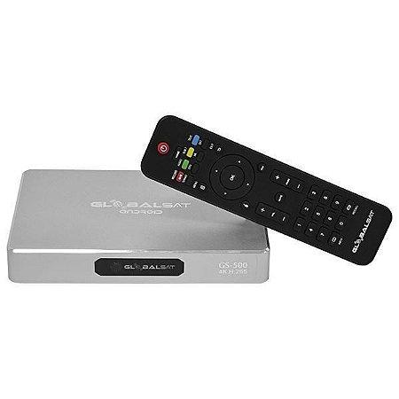 RECEPTOR Globalsat Ultra HD GS500 4K Wi Fi