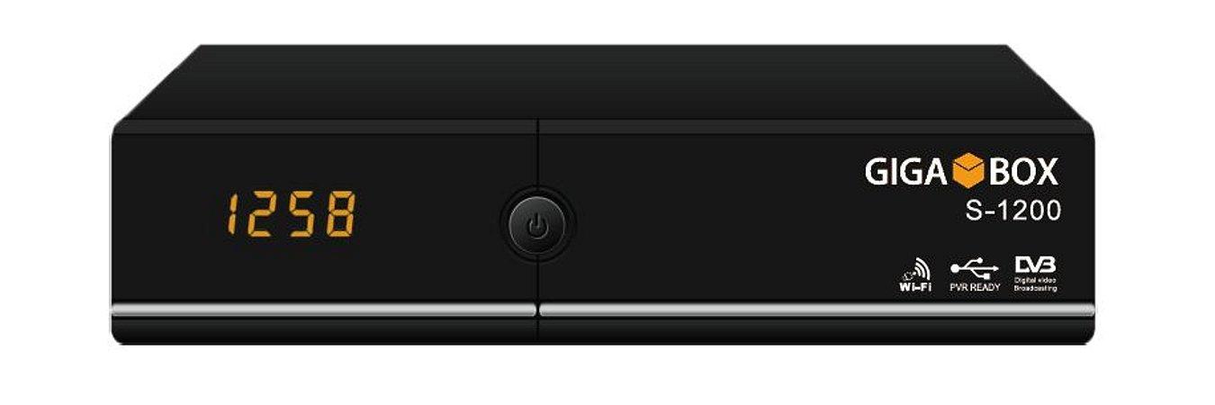 RECEPTOR Gigabox S-1200 + WiFi - LANÇAMENTO