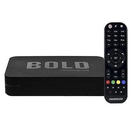 RECEPTOR TOCOMBOX BOLD IPTV / ANDROID DEJAVU - (TUNNER VENDIDO SEPARADAMENTE P/ IKS E SKS)