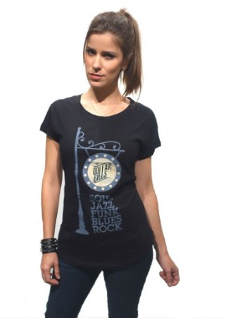 Camiseta Fem. Soul/Jazz/Funk/Blues/Rock