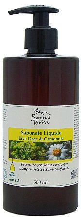 Sabonete Líquido Erva Doce & Camomila 500ml