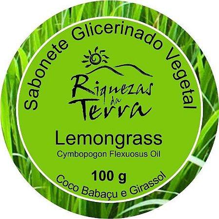 Sabonete Glicerinado Vegetal Lemongrass