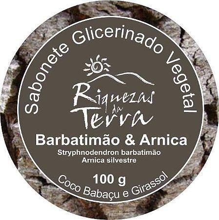 Sabonete Glicerinado Vegetal Barbatimão e Arnica