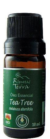 Óleo Essencial Tea Tree (Melaleuca Alternifolia)  IBD Orgânico 10ml