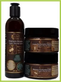 Organic Lifting Hair System - Kit Escova Progressiva - OUTLET
