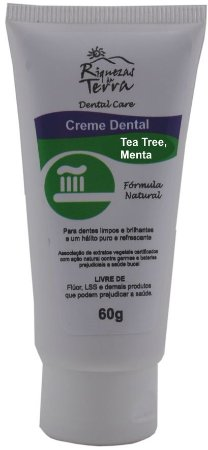 Creme Dental Tea Tree e Menta 60g