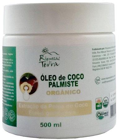 Óleo de Coco Palmiste Orgânico