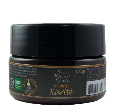 Manteiga de Karité 100g - Certificado IBD Ingredientes Naturais