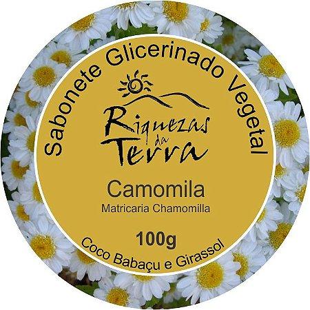Sabonete Glicerinado Vegetal Camomila 100g - OUTLET