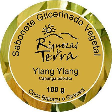 Sabonete Glicerinado Vegetal Ylang Ylang - OUTLET