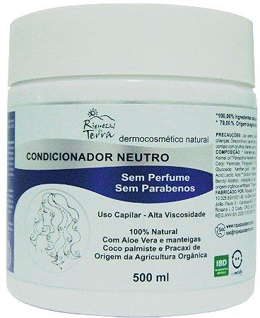 Condicionador Neutro 500ml - Com certificado IBD
