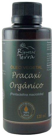 Óleo Vegetal de Pracaxi Orgânico 100% Puro - 120ml