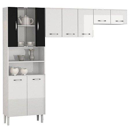Kit Cozinha Compacta Sheila 9 Portas+ Balcão Sheila - Aramóveis