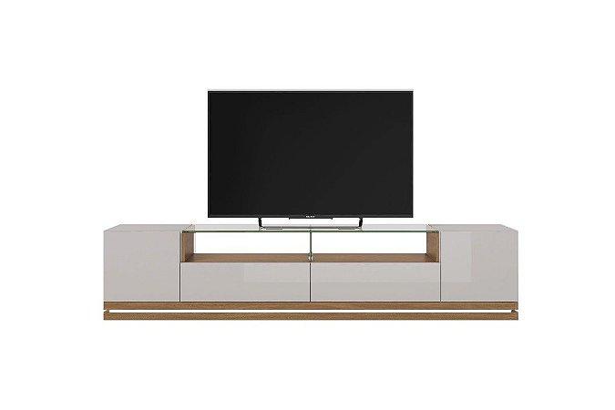 Rack Rennes Província TV's até 60''  - 2 Portas Laterais com dobradiças metálica, 2 Gavetas