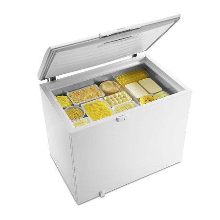 Freezer Horizontal 1 Porta 305 Lts Dupla Ação H300 Branco - Electrolux 220v