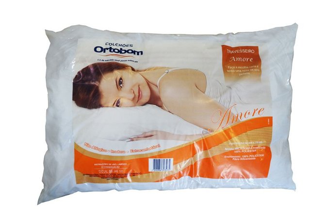 Travesseiro Ortobom Amore Anti Ácaro E Fungo