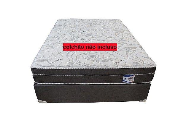Cama Box Casal Plumatex Halley 138x188x30cm