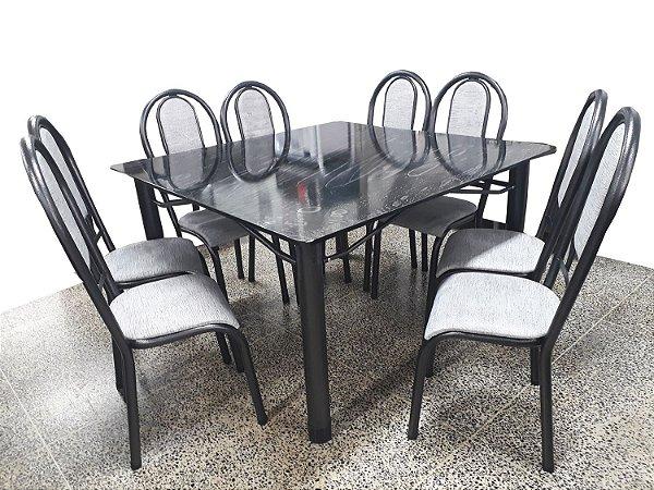 Mesa Velgo Canada Corino com 8 Cadeiras