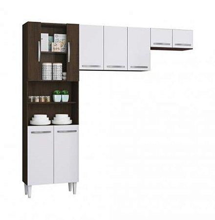 Kit Cozinha Compacta Sheila + Balcão Sheila - Aramóveis
