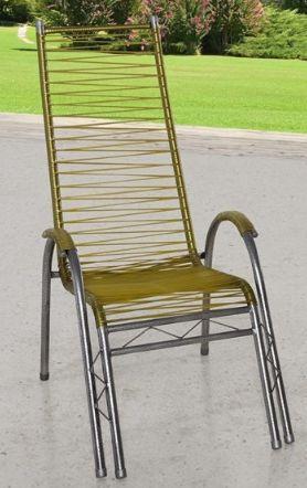 Cadeira area JJ Fafa espaguete