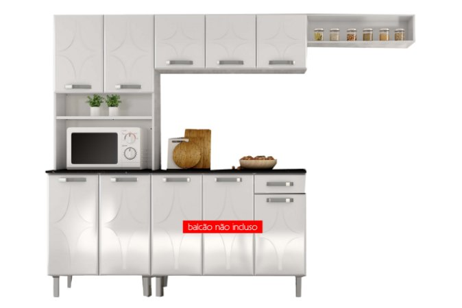 Kit cozinha Telasul Smart 3 peças