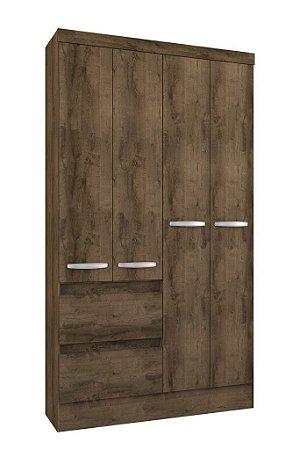 Guarda roupa Atualle Maragogi 4 portas 2 gavetas