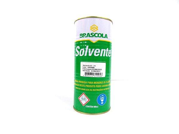 SOLVENTE B21 P/COLA VINIL - 900ML