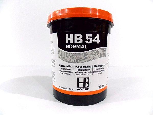 REMOVEDOR  HB54 PASTA ALCALINA NORMAL - 900ML