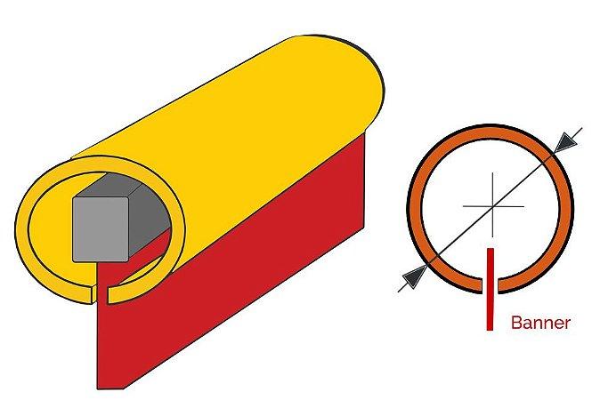 TUBO C P/ BANER C/ 3M