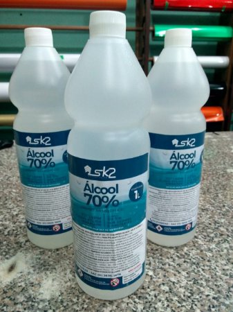 ALCOOL 70 DE 1 LITRO