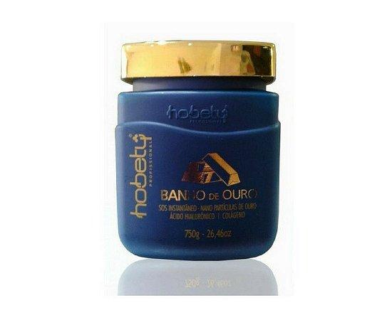 Banho de Ouro 750g Máscara Hidratante Hobety