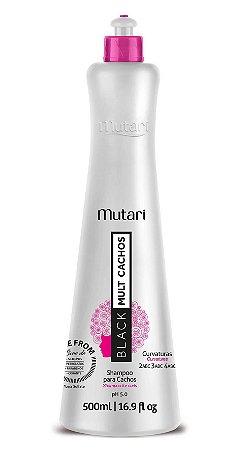 Shampoo Black Mult Cachos 500ml