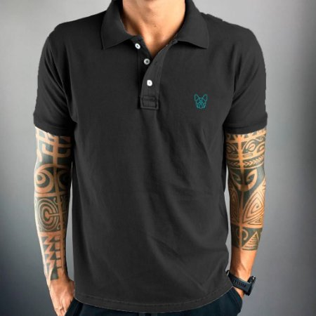 Polo Dog Black