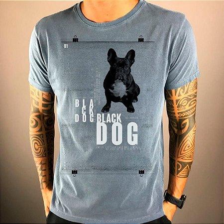 T-Shirt Black Dog