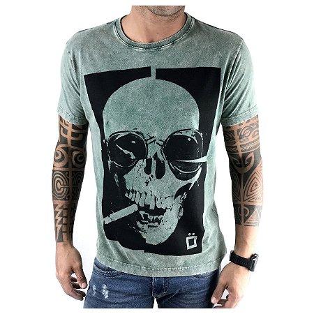 T-Shirt Flat Skull