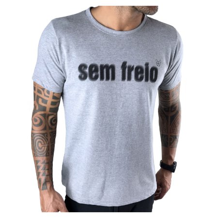 T-Shirt Sem Freio