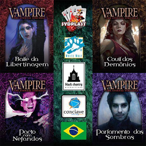 Baralhos de VTES - Sabá em Português (Pronta Entrega)
