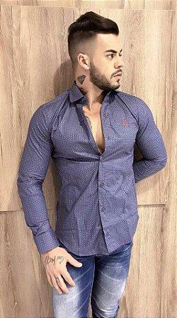 Camisa JTK florença fio 60 estampada