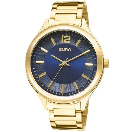 43c72685a05 Relógio Euro Feminino Caen - Dourado - Diamonds Ouro