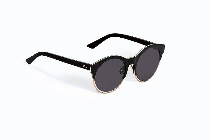 Óculos Dior Sideral 1 Preto - Diamonds Ouro c6a429d13686