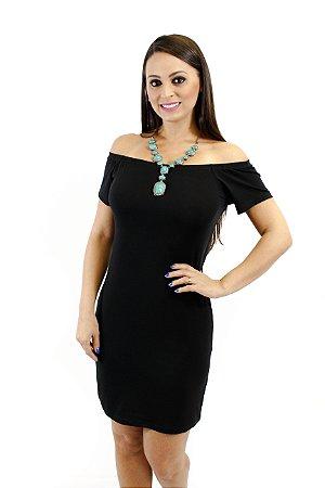 Vestido ciganinha preto