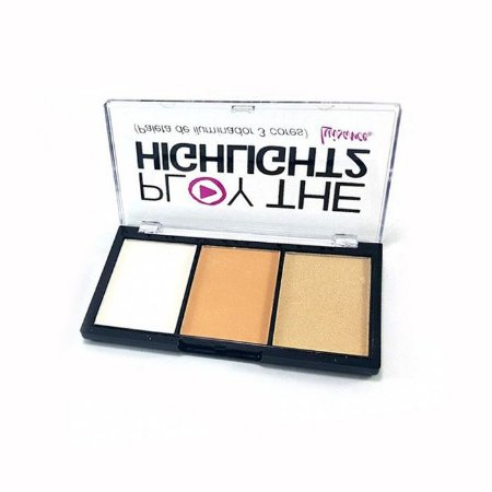 Paleta de Iluminador 3 Cores Play The Highlight2 Luisance L3008 - Cor 1