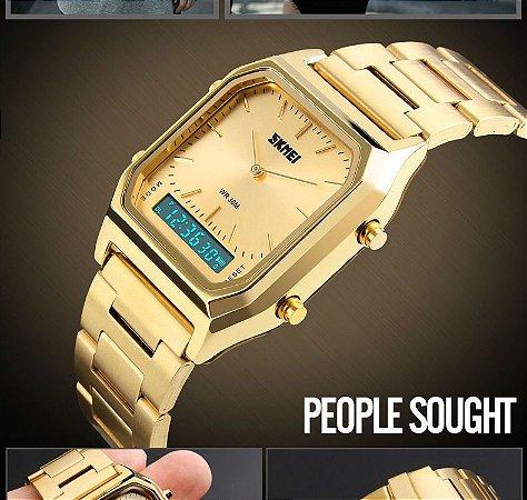 7a75754020f Relógio de Pulso Do Esporte Relógios Cronógrafo À Prova D  Água Relogios  Femininos Marcas Famosas