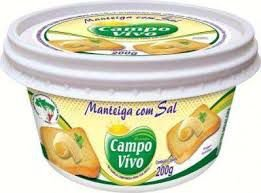 MANTEIGA EXTRA COM SAL CAMPO VIVO 200G