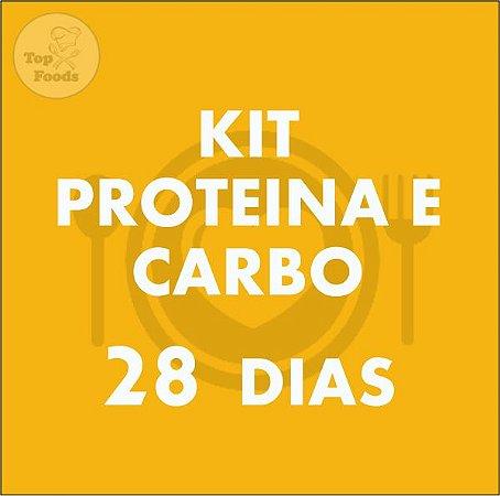 KIT PROTEÍNA E CARBOIDRATO 28 DIAS