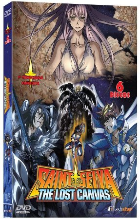 Saint Seiya: The Lost Canvas – 1ª Temporada Completa – DVD