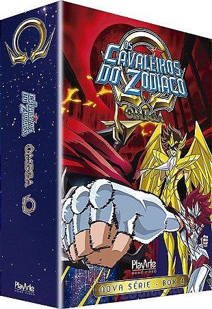 Box Os Cavaleiros do Zodíaco Ômega: Vol. 4 - DVD
