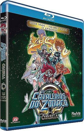 Os Cavaleiros do Zodíaco Ômega: Vol. 3 – Blu-ray