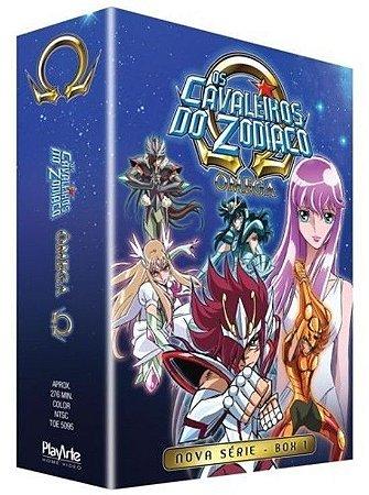 Os Cavaleiros do Zodíaco Ômega: 1ª Temporada – Vol. 1 – DVD