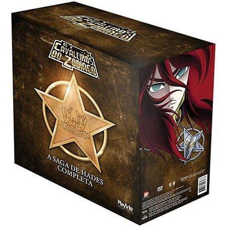 Box Os Cavaleiros do Zodíaco: Saga de Hades - DVD